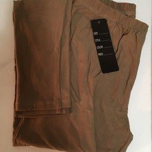 Pants - 🆑 TAUPE LEGGINGS